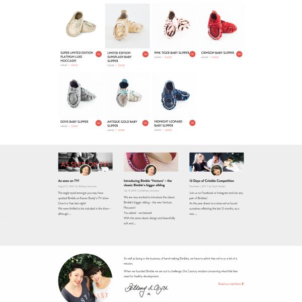 Bimble - Home Page